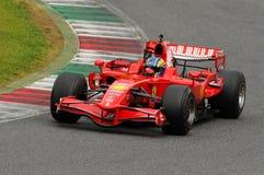 Clientiprogramma Mugello van testferrari F1 Stock Foto