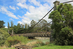 Clifden吊桥 免版税库存图片