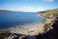 Clifden海湾在爱尔兰 免版税图库摄影