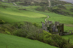 Clifden Castle in Northern Ireland Royalty Free Stock Photo