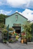 Clifden frukt- och Veggiemarknad, Irland Arkivbild