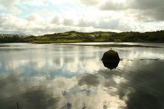 Clifden harbor Royalty Free Stock Images