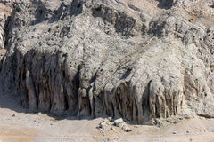 Cliff. Close-up image of cliff-Location Pag island Stock Photos