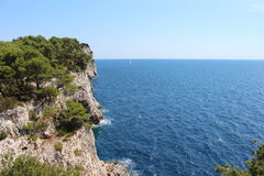 cliff Στοκ φωτογραφία με δικαίωμα ελεύθερης χρήσης