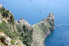 Cliff in Alanya Stock Photos