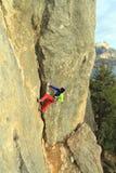 cliff arywista kamień będzie Obraz Royalty Free