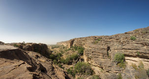 Cliff of Bandiagara in Dogon Land Stock Photos
