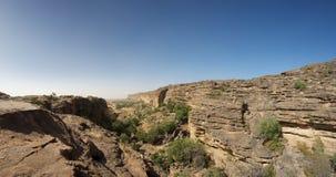 Cliff of Bandiagara in Dogon Land Stock Photos