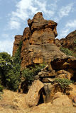 Cliff of Bandiagara, Mali, Africa Stock Image
