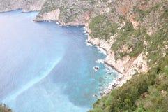 Cliff Beach Arkivbilder