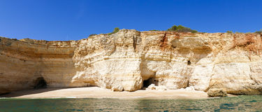 Cliff Beach - Panorama Stock Image
