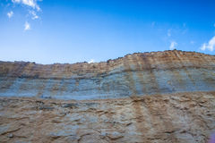 The cliff Royalty Free Stock Images