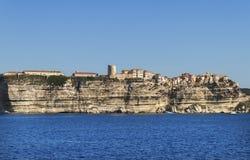 Cliff in Bonifacio. Royalty Free Stock Photo