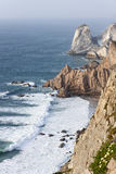 Cliff at Cabo da Roca Stock Photo