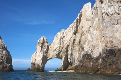 Cliff in Cabo San Lucas Mexico Royalty Free Stock Photos