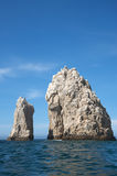 Cliff in Cabo San Lucas Mexico Stock Image