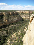 Cliff canyon in Mesa Verde (USA) (vertical). Cliff canyon (vertical) in Mesa Verde National Park (Colorado, USA Royalty Free Stock Photography