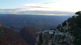 The Cliff on the canyon stock photography