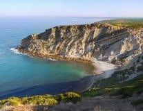 Cliff Cape Espichel, Atlantic Coast Royalty Free Stock Photo