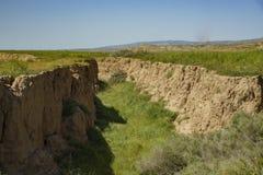 Cliff at Carrizo Plain. National Monument, California, U.S.A Stock Photography