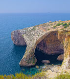 Blue Grotto area of Malta Royalty Free Stock Image