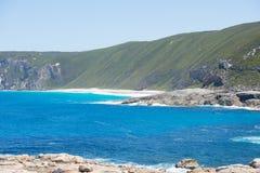 Cliff coast Torndirrup National Park Australia Stock Image