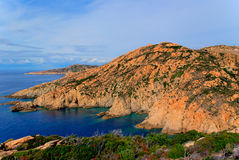 Cliff of Corse Royalty Free Stock Image