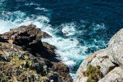 Cliff in the Costa da Morte, Galicia Stock Image