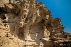 Cliff cyprus Stock Image