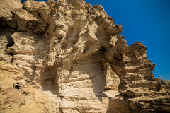 Cliff cyprus Royalty Free Stock Image