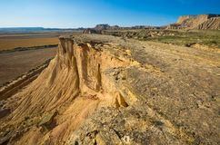 Cliff at desert landscape Royalty Free Stock Image