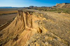Cliff at desert landscape Stock Images