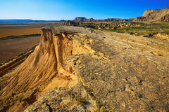 Cliff at desert landscape Royalty Free Stock Photo