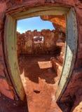 Cliff dwellers village. Vermilion cliffs - cliff dwellers village in Arizona Stock Photos