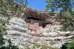 Cliff Dwelling Royalty-vrije Stock Foto's