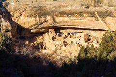 Cliff Dwelling i Mesa Verde NP royaltyfri fotografi