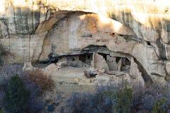 Cliff Dwelling i Mesa Verde NP royaltyfri bild