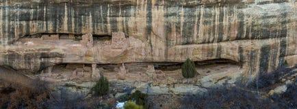 Cliff Dwelling i Mesa Verde NP royaltyfri foto