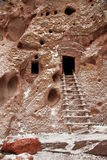 Cliff dwellings Stock Image