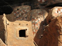 Cliff Dwellings 2. Ancient Cliff Dwellings in Mali Africa Royalty Free Stock Photos
