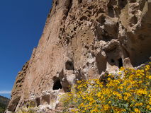 Cliff Dwellings Royalty Free Stock Images