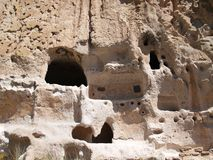 Cliff Dwellings Royalty Free Stock Photography