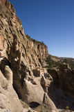 Cliff Dwellings at Bandrlier New Mexico. Cliff Dwellings at Bandelier New Mexico near Santa Fe Royalty Free Stock Images