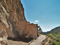 Cliff Dwellings. At Bandalier National Monument near Los Alamos, New Mexico Stock Photo