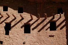 Cliff dwellings in Colorado Springs3 Royalty Free Stock Photos