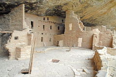 Cliff Dwellings made of sandstone Royalty Free Stock Photo
