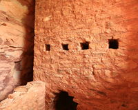 Cliff dwellings at Manitou Royalty Free Stock Image