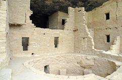 Cliff Dwellings at Mesa Verde National Park, Colorado Stock Photo