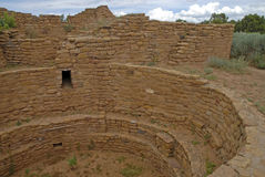 Cliff Dwellings at Mesa Verde National Park, Colorado Stock Photography