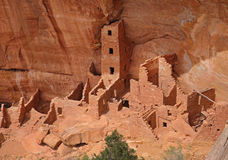 Cliff Dwellings at Mesa Verde National Park, USA Royalty Free Stock Photography